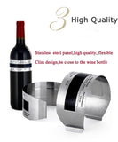 4 Pcs x Wine Bottle Body Thermometer Bracelets + Free Shipping