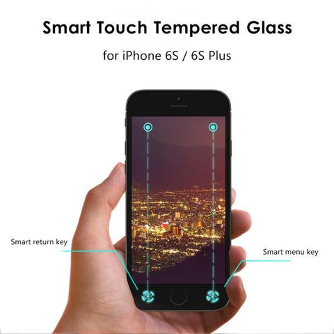 Smart Touch Tempered Glass for iPhone + Free Shipping!