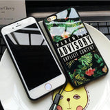 ADVISORY Explicit Content Case For iPhone 6 / Plus