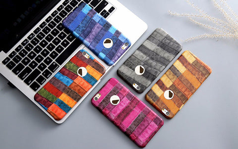 Colorful Crocodile Skin iPhone Case + Free Shipping