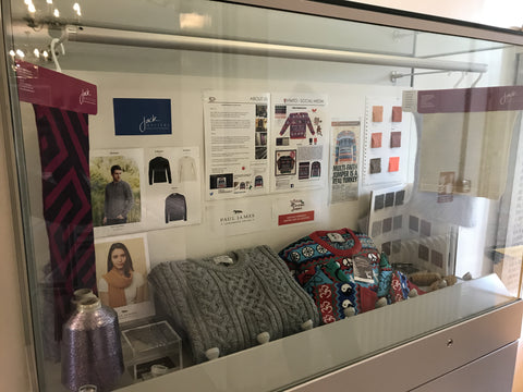 knitwear factory display in Newarke museum