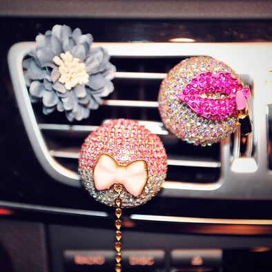 How to DIY cool car vent decorations with your favorite scent.