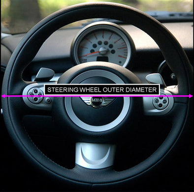 How to measure steering wheel diameter