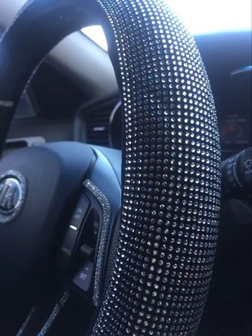 KIA Bedazzled Steering Wheel Cover