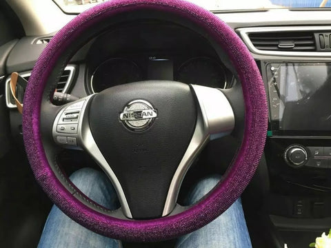 NISSAN Bedazzled Steering Wheel Cover