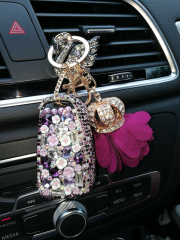 bling audi key holder