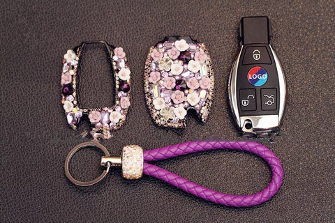 bling benz key