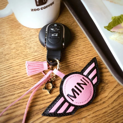 Personalized MINI COOPER Keychain
