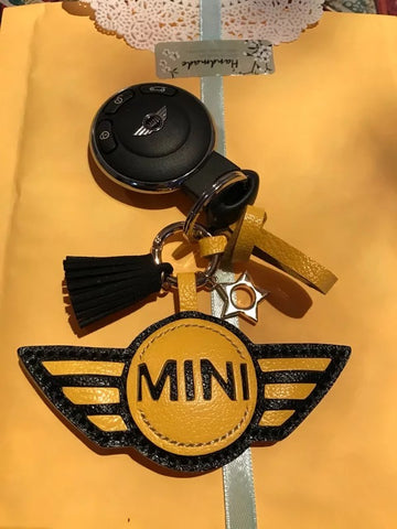 customized mini cooper keychain