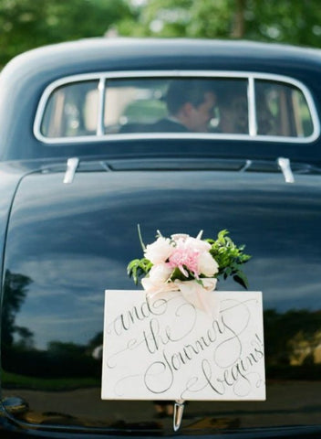flowers for wedding car decoration
