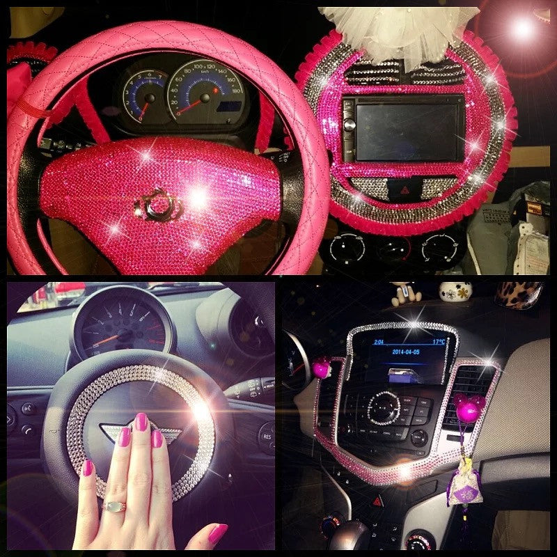 cool girly car accessories just for you. Black Bedroom Furniture Sets. Home Design Ideas