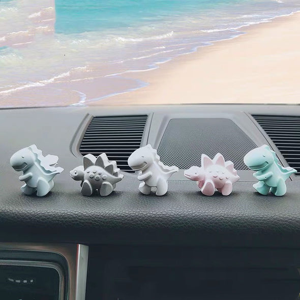 Dinosaur Car Air Vent or Dashboard Decoration - set of 4.
