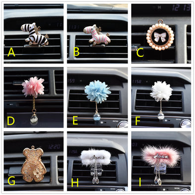 Crystalize Your Ride-Rhinestone Car Air Vent Bling Decorations