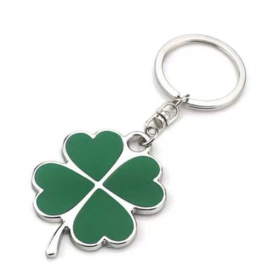 ALFA ROMEO Clover Metal Car Key Chain Keychain Key Ring