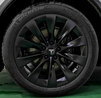 Wheel Cap Kit for TESLA Model S/X/S (Wheel Lug Caps +Tesla logo wheel caps)