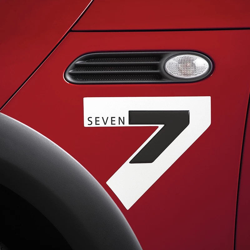 Mini Cooper Decal Seven 7 Sticker Car Decal - Carsoda - 1