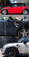 Mini Cooper Decal Seven 7 Sticker Car Decal - Carsoda - 2