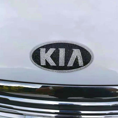 KIA Bling Emblem Decal for Front/Rear Grille Custom-made