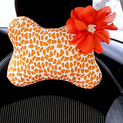 Giraffe Headrest Pillow - Carsoda