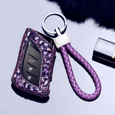 Lexus Bling Car Key FOB case for 2018 2019 ES200 300H LS500H