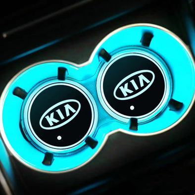 KIA LED illuminating Cup Coaster (USB charged)