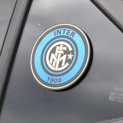 3D Chrome Metal Inter Milan 1908 Car Decal Sticker