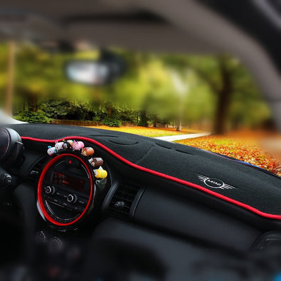 Customized Mini Cooper Dashboard Carpet Photophobism Protective Pad Mat Cover F54 F55 F56 F60 R55 R56 R60 R61