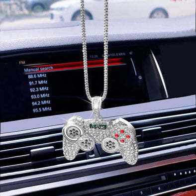 Unique Car Mirror Charm- Game Controller Pendant Rearview Ornament