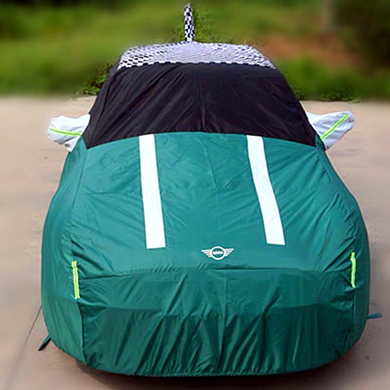 Jack Union Or Checkers Roof Top Mini Cooper Car Cover Oem