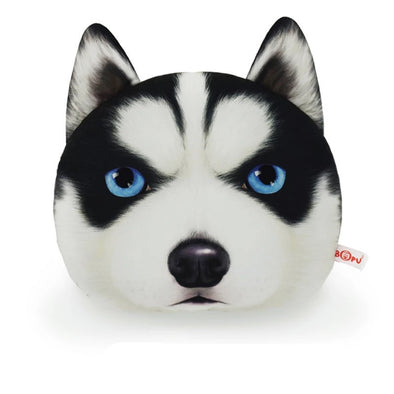 Dog Car Seat Headrest Pillow -Husky Pug Chihuahua