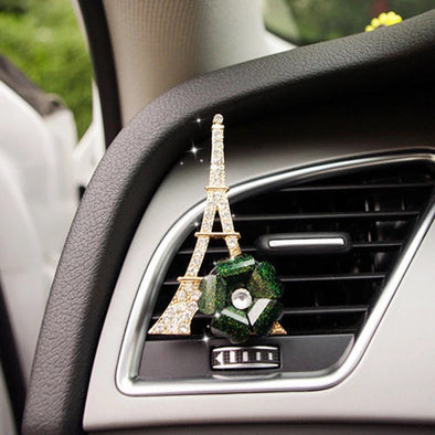 Bling Your Ride - Eiffel Tower Air Vent Mounted Decoration with DIY freshener