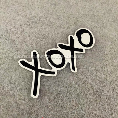 Cute Car Decal XOXO Sticker