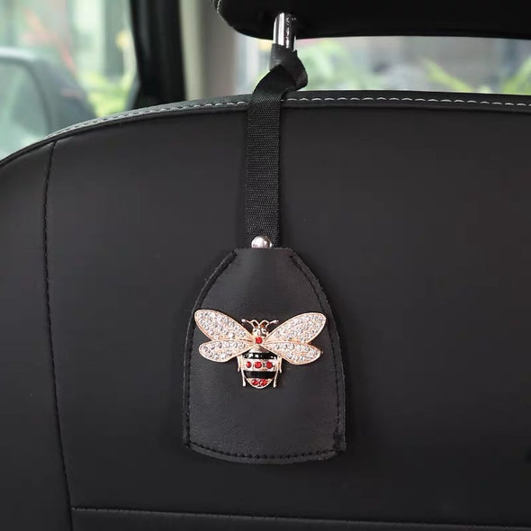 Car Seat Hooks Hanger with Bling Bee
