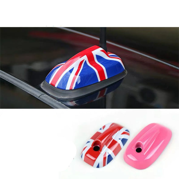 Mini Cooper F55 F56 Antenna Pedestal -Union Jack Checkers Pink etc