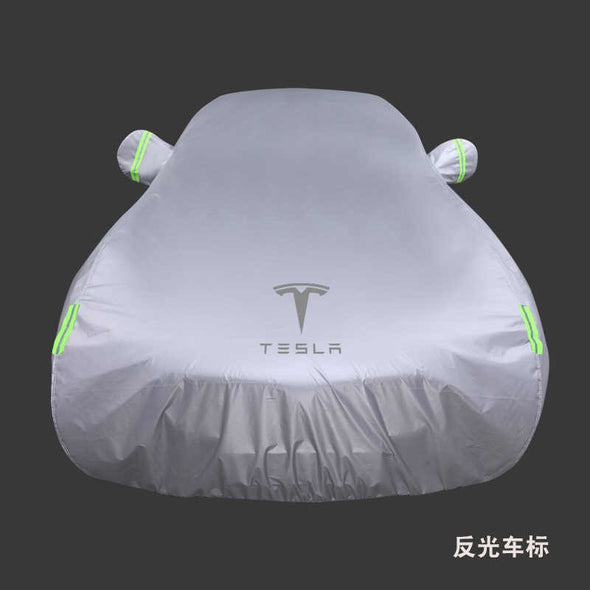 Tesla Model X Customized Outdoor Car Cover ---Anti-heat/Dust and Waterproof Weatherproof