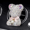 Bling Bear Car Air vent Decor with Freshener