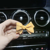 Bow Shaped Car Air Vent Decoration with Fragnance Scent (1 piece)
