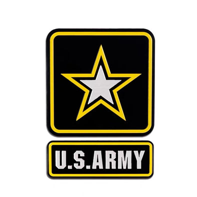 US ARMY 3D metal Chrome Emblem Badge Decal
