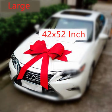 Handmade Big Car Bow Giant New Gift Red Bow
