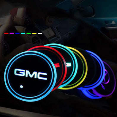 GMC LED illuminating Cup Coaster (USB charged)