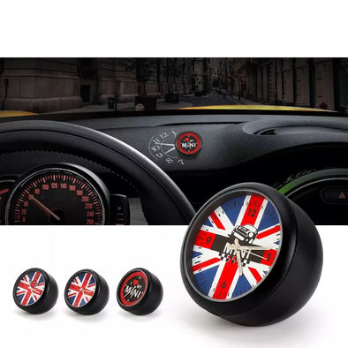 Mini Cooper Non Slip Jack Union LOGO Clock Timer Dashboard Decoration