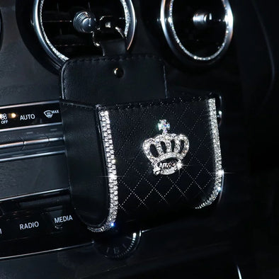 Bling Crown Cell Phone Holder