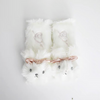 Bunny Rabbit Car Plush Headrest Waist Pillow Seat belt cover Set
