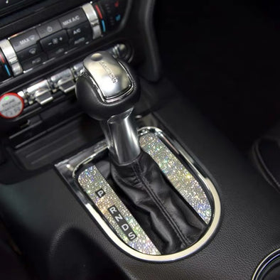 Ford Mustang Bling Gear Shift Knob Rhinestone Decal Sticker