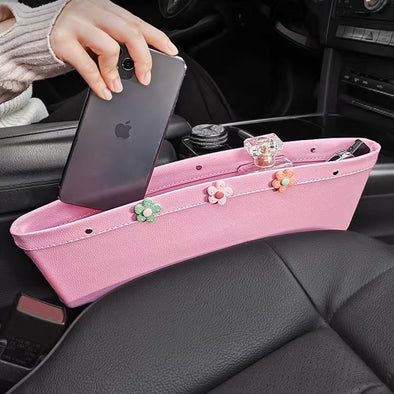 Cute Car Seat Drop Container Bag Phone Key holder