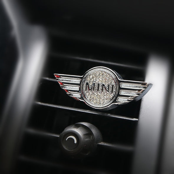 Bling Air Vent Decoration For Mini Cooper with DIY Freshener