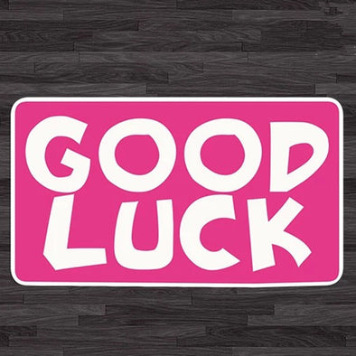 Good Luck Decal Mini Sticker Carsoda