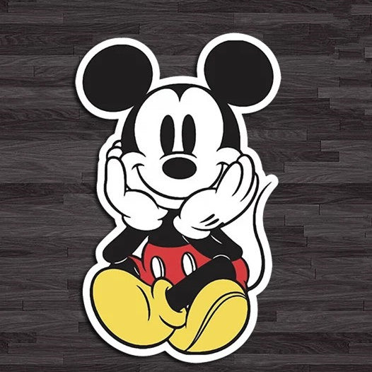 Fun Car Decal Disney Mickey Mouse Mini Sticker