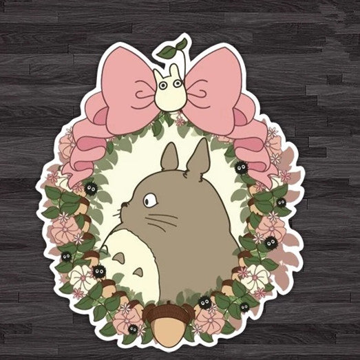 Cuties Car Decal Totoro Neighbors Mini Sticker