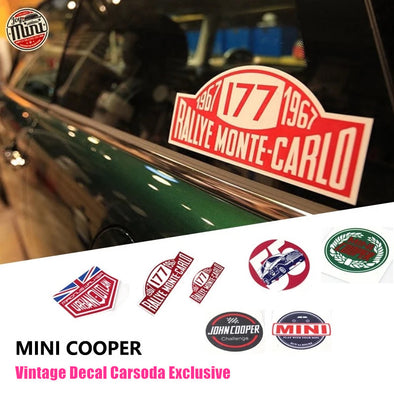 Unique Mini Cooper Countryman Decal Vintage Sticker Carsoda-Exclusive